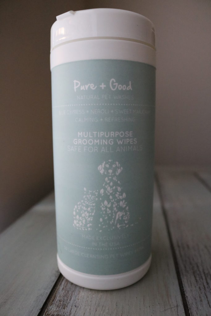 Pure + Good: Products pure for your pet and good for the soul.